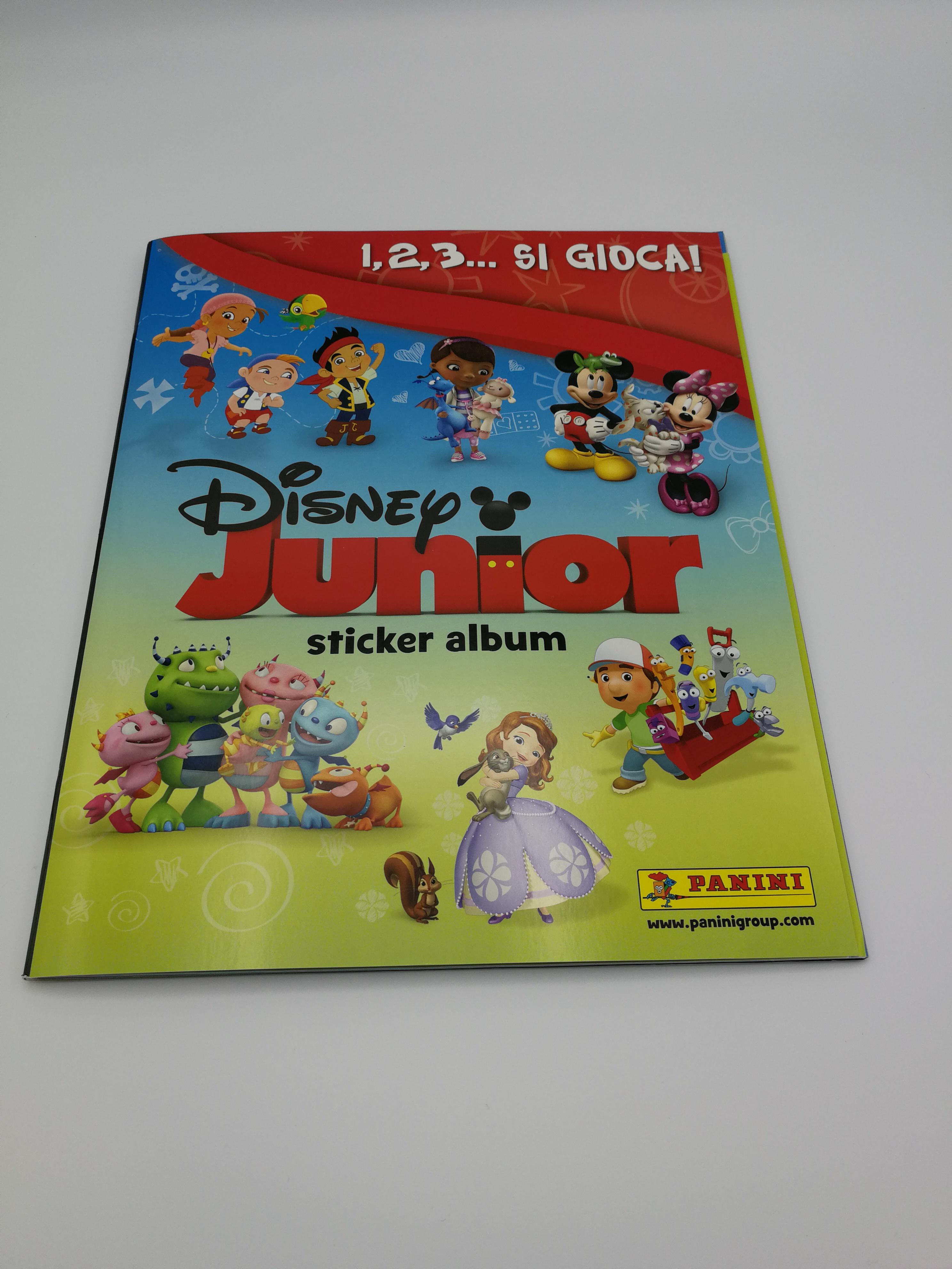 Disney Junior Album Vuoto Panini