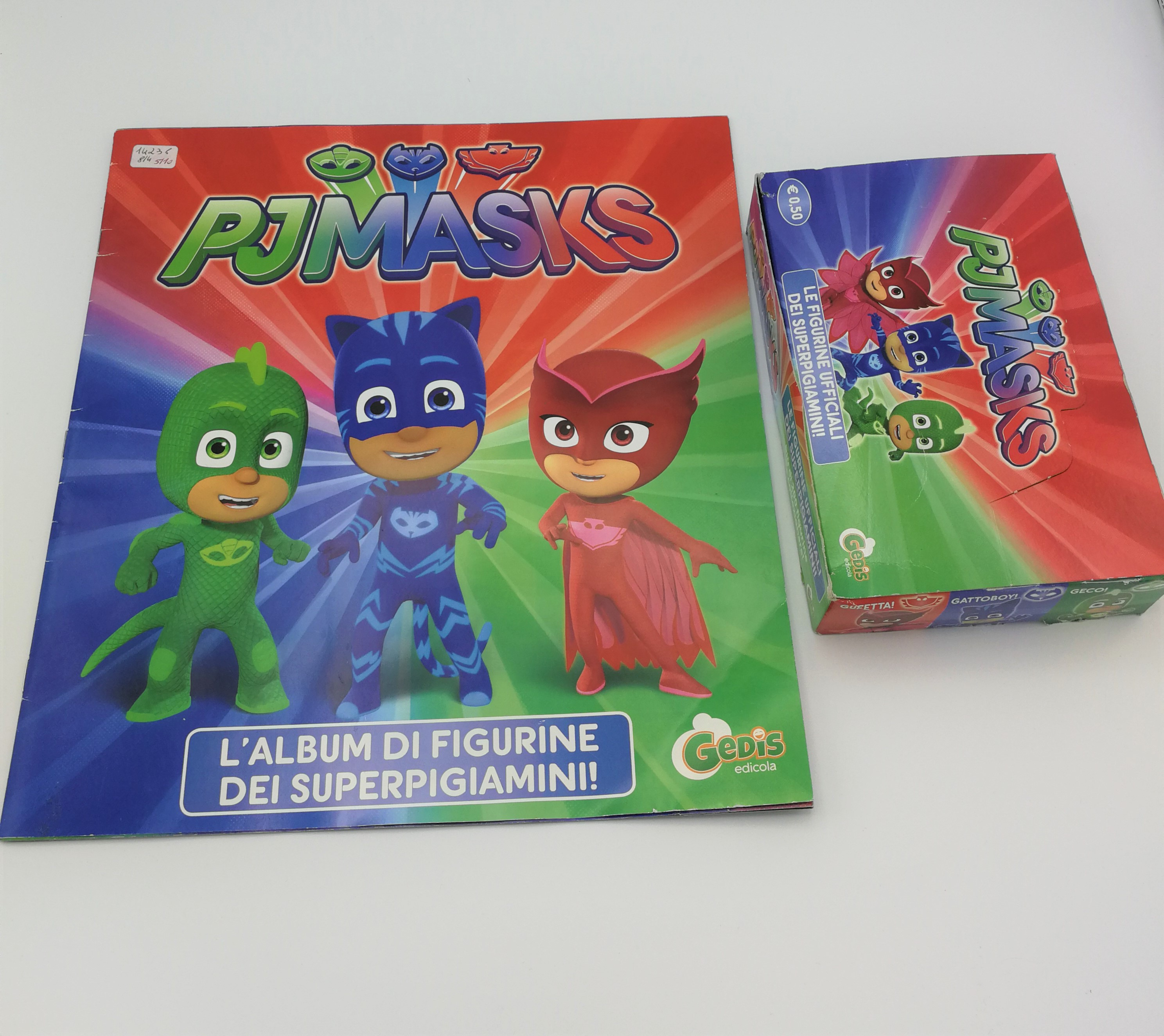Pj Mask Album Vuoto Box 70 Bustine Figurine Gedis Manuelkant