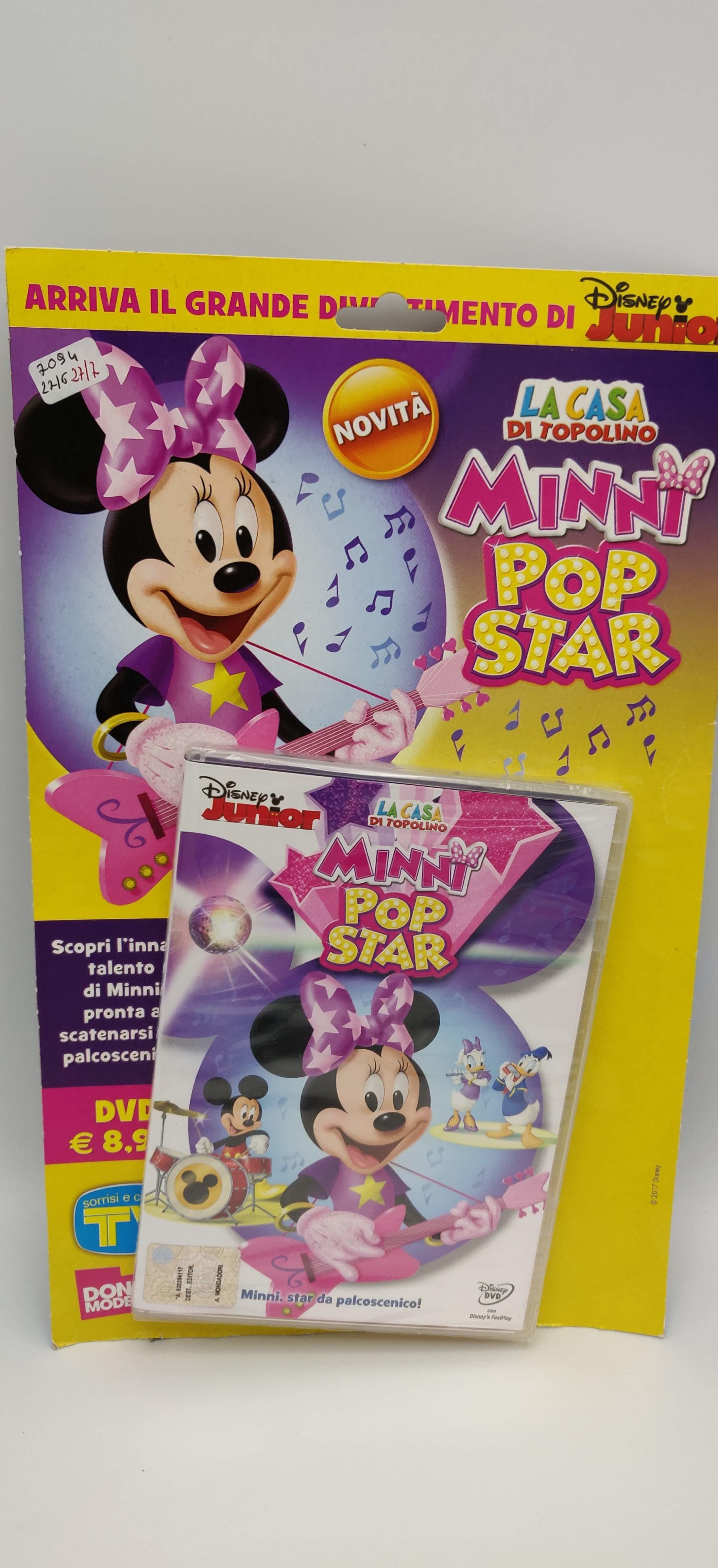 Minni popstar la casa di topolino cartone animato dvd disney