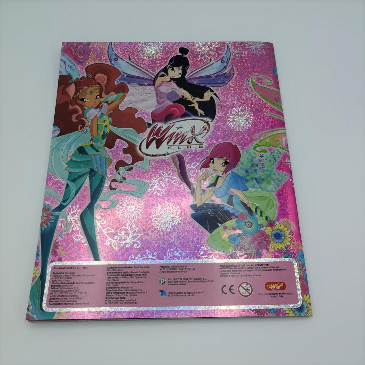 Winx club cuore di fata album figurine completo rainbow manuelkant