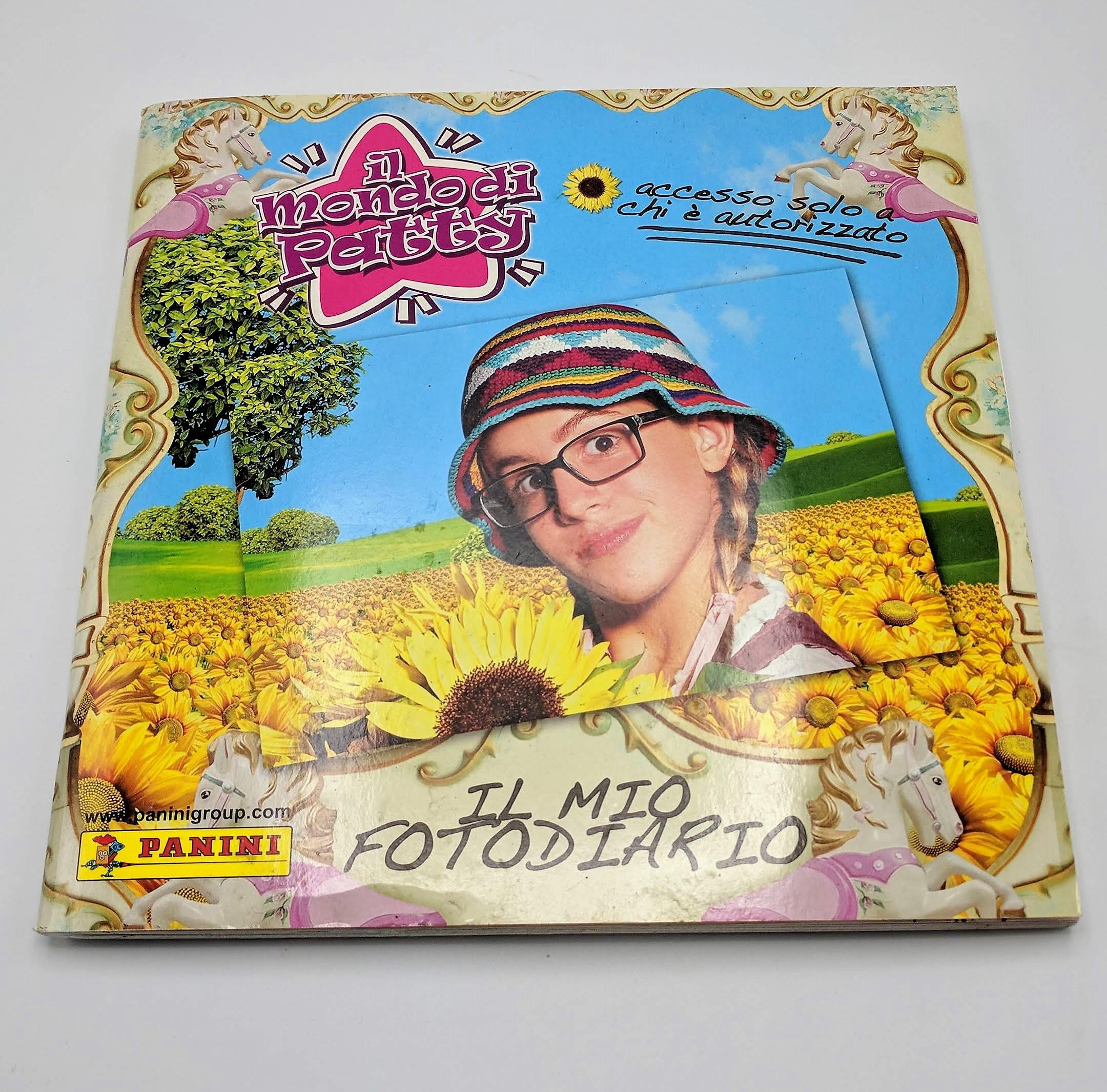 Il Mondo di Patty 2^ Cards Game Album Vuoto Panini