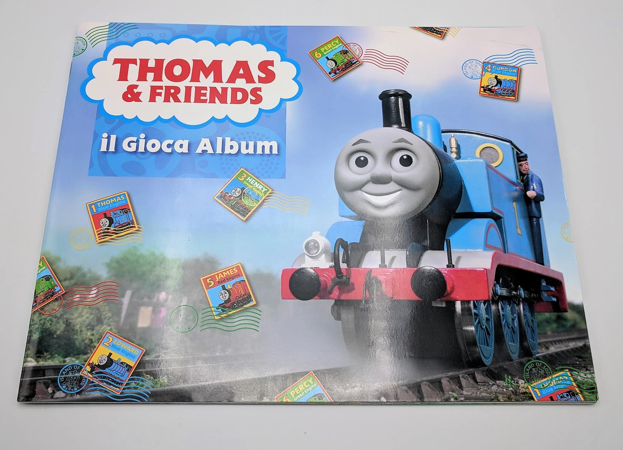 Trenino thomas and friends album completo panini manuelkant