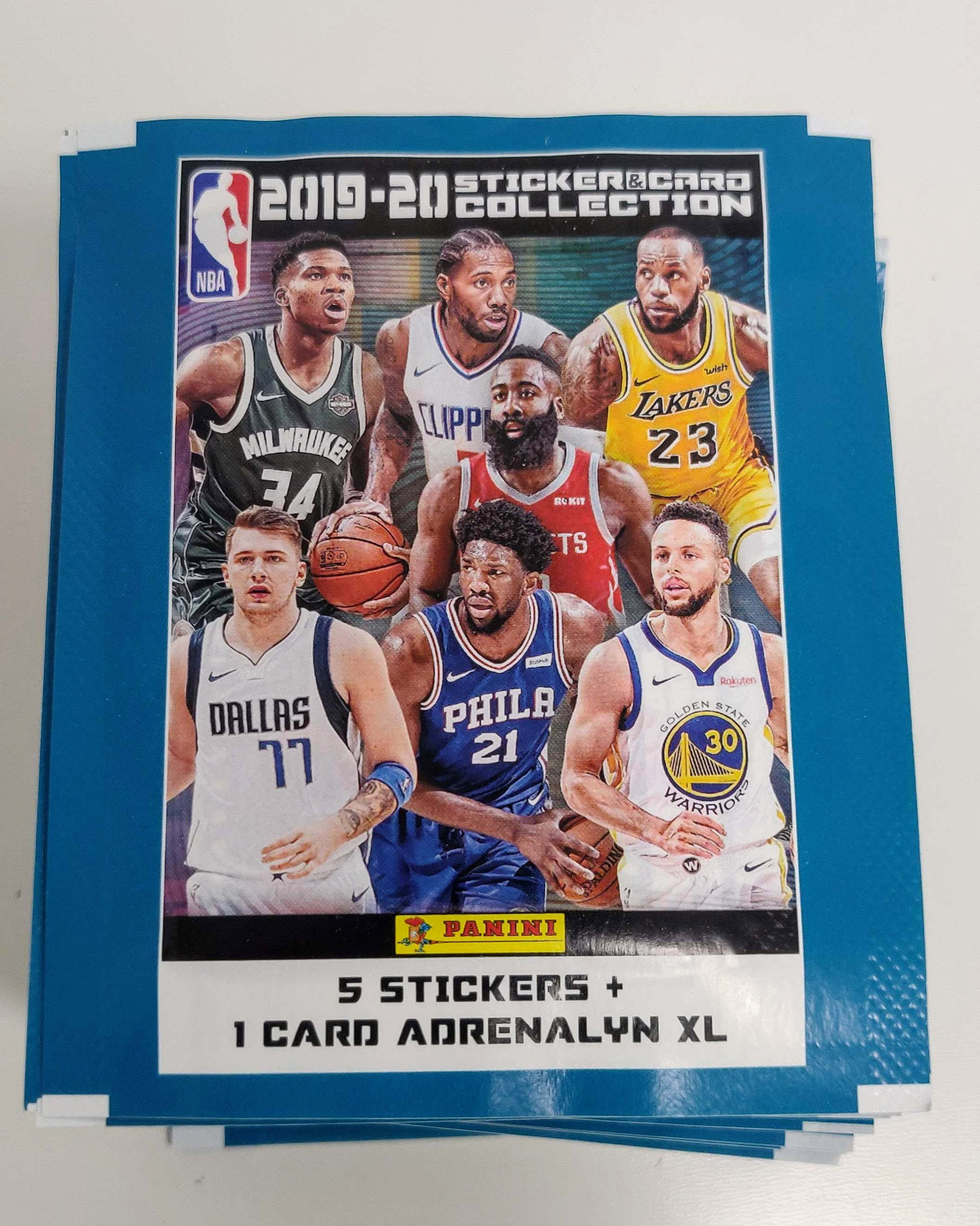 Details About Nba Stickers Card 2019 2020 50 Packs Figurines Panini Mens Box V Promo