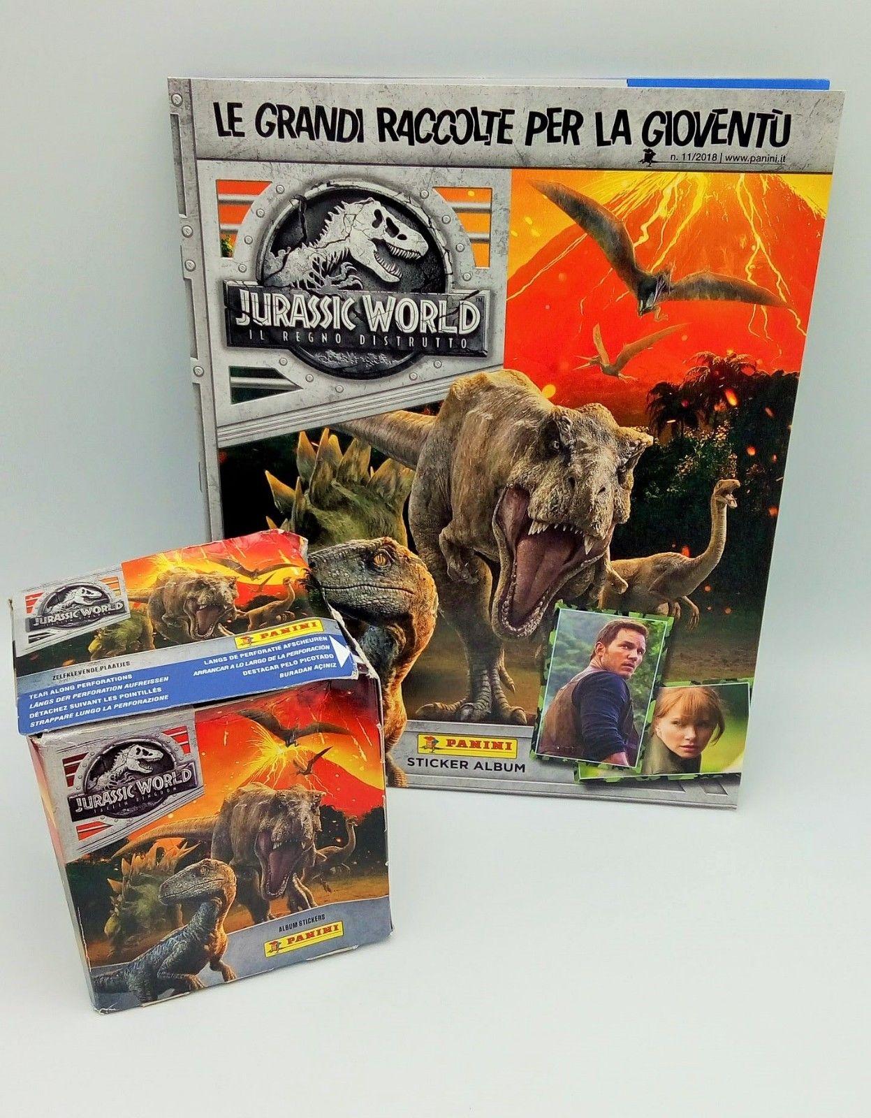 Jurassic World Album Vuoto Panini