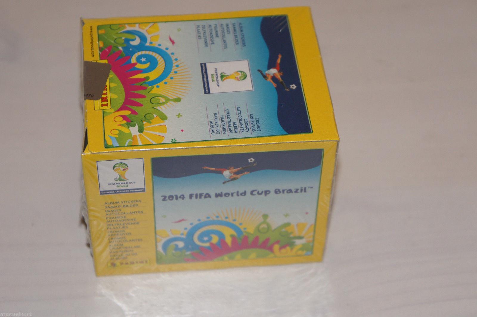 PANINI WM BRASIL 2014-30 Sticker scegliere Nuovo