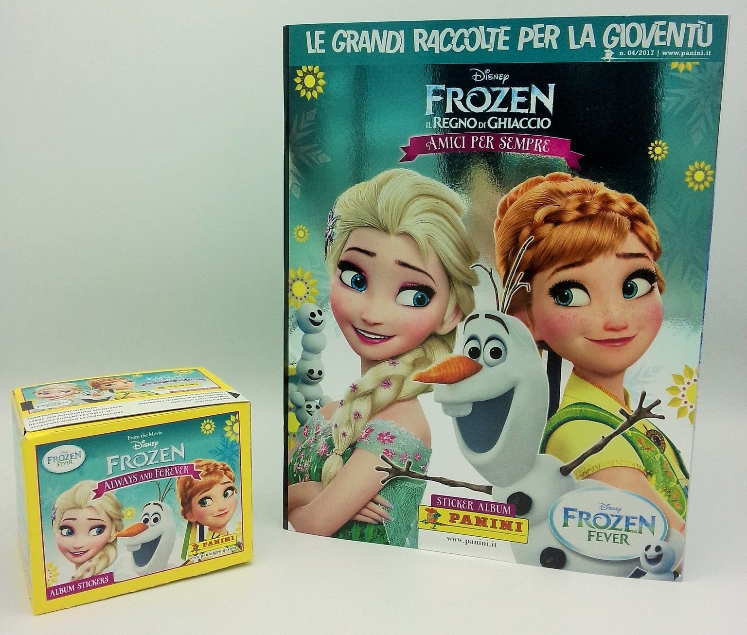 Disney's  Frozen Always And Forever Stickers  100 Packets and album